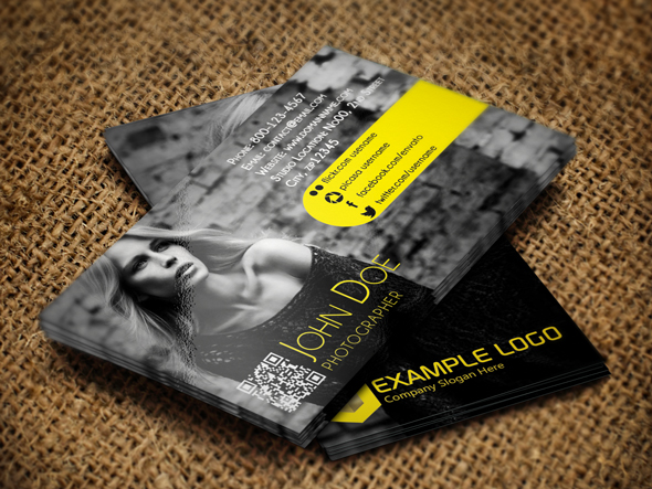 Business Card for Fashion World Free PSD Mockups