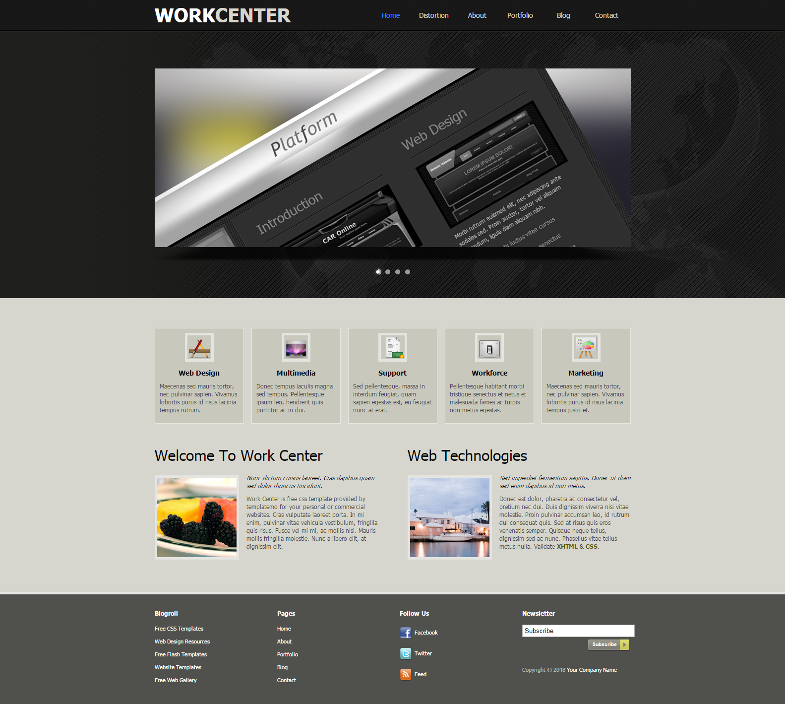 Dreamweaver Templates Reviewed Web Site Template and - oukas.info