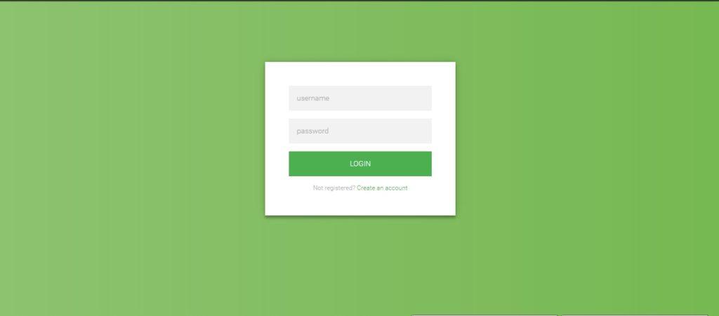 Flat HTML5CSS3 Login Form