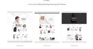 OpenCart eCommerce Themes