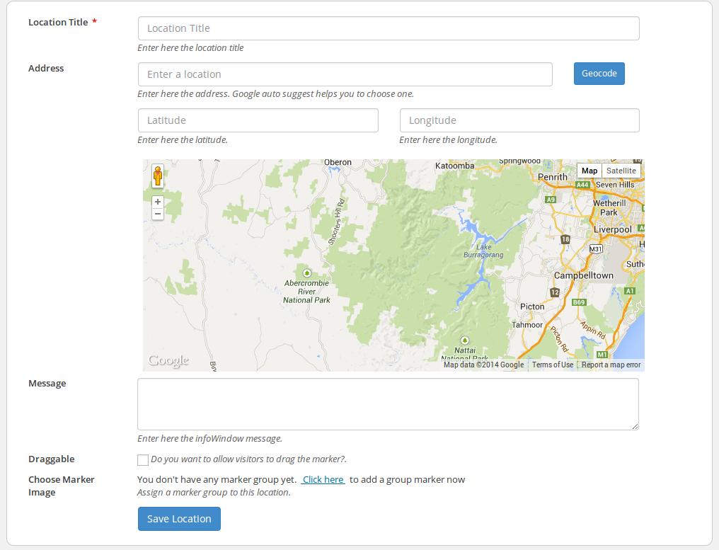 4.WP Google Map Plugin(2)