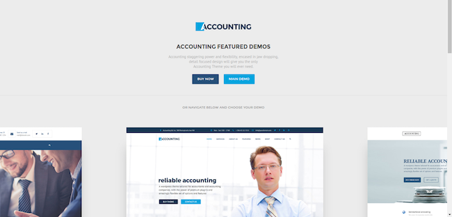 accounting wordpress
