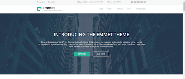 emmet wordpress