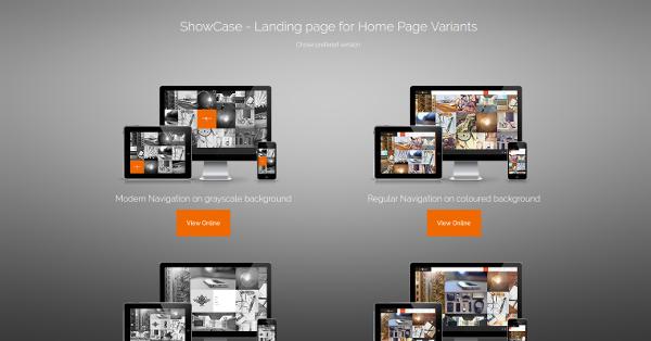 10.Showcase – Ajax HTML Responsive Portfolio Theme