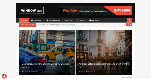 10.WindowMag WordPress Magazine & Blog Premium Theme
