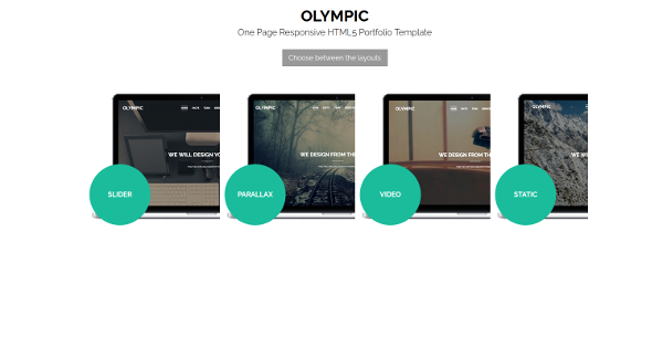 13.Olympic One Page Parallax Template