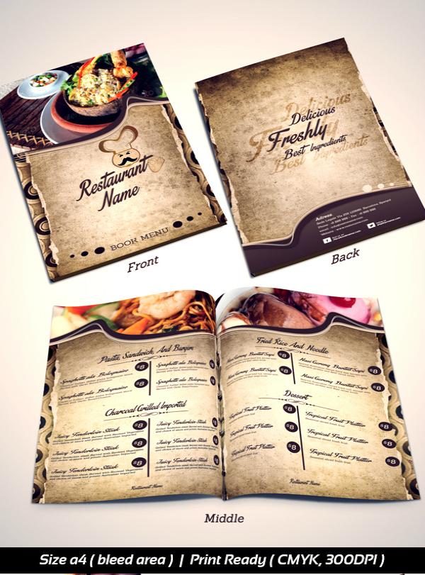 Brochure Designs for Restaurant