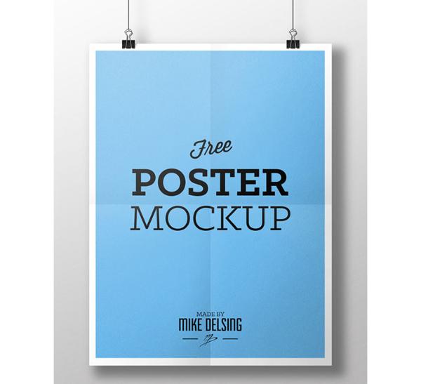 Free PSD Flyer Mockups