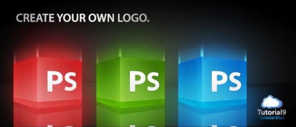 2. 3D Glossy Box Logo