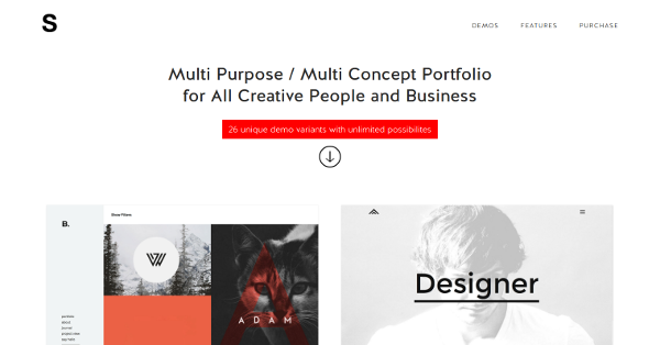 2.SIGNATURE - Multi-Purpose Many Concept Portfolio