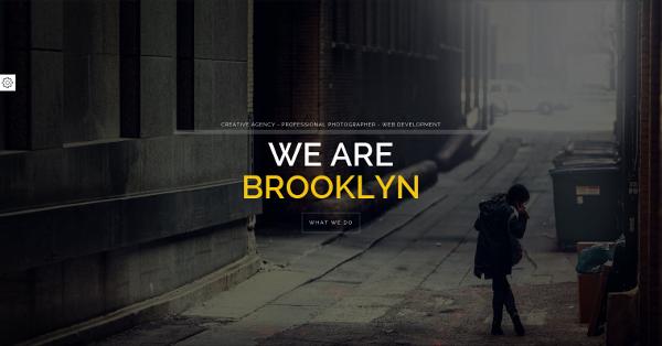 20.Brooklyn – Creative Portfolio Page HTML