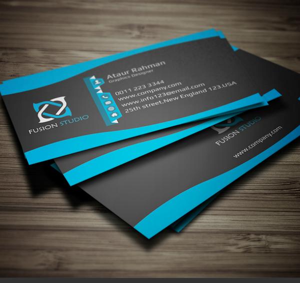 PSD Business Card