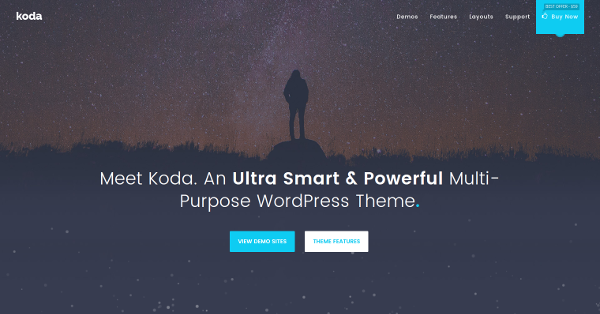 23.Koda Creative Multi-Purpose WordPress Theme