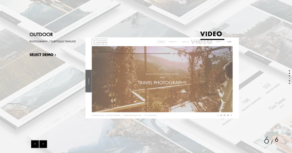 26.Outdoor – Portfolio Template