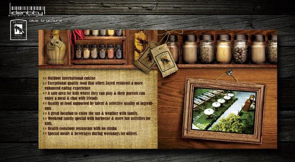 30 Creative Brochure Designs for Restaurant