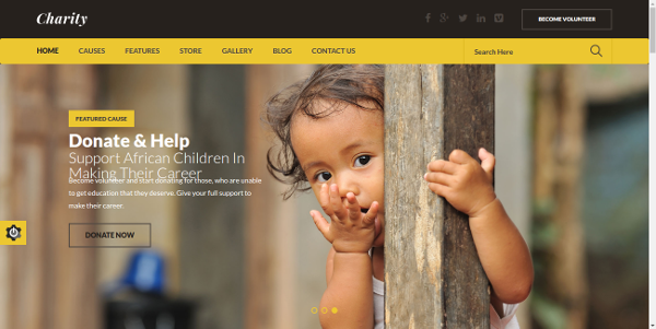26 best html5 church and charity website templates web design