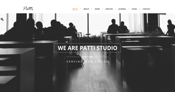 6.Patti – Parallax One Page HTML Template