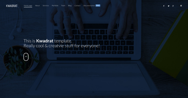 7.Kwadrat - Creative Multipurpose HTML5 Template