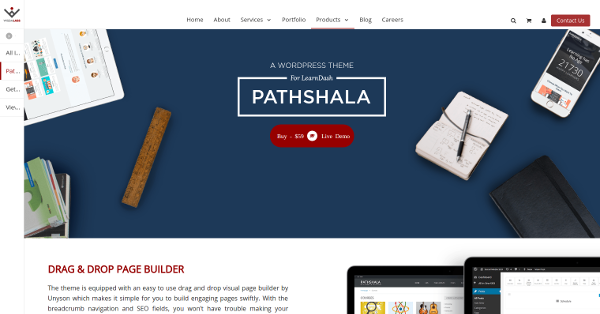 8.Pathshala WordPress Theme for LearnDash