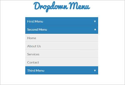 DropDown Menus