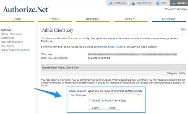 9.Authorize.Net AIM