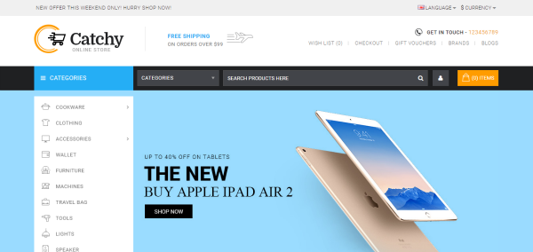 20 Best Responsive OpenCart Themes For Ever Business