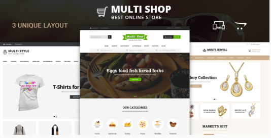 New Responsive OpenCart Themes