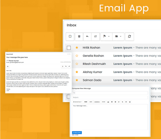 12. Email app