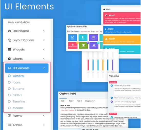9. UI elements
