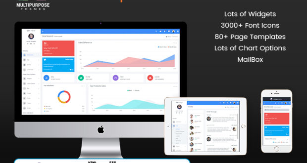 Lion - Responsive Bootstrap 4 Admin Template