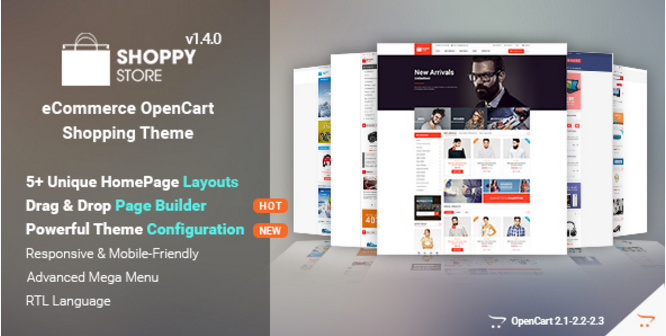 New OpenCart Themes for Best E-Commerce Design in 2018